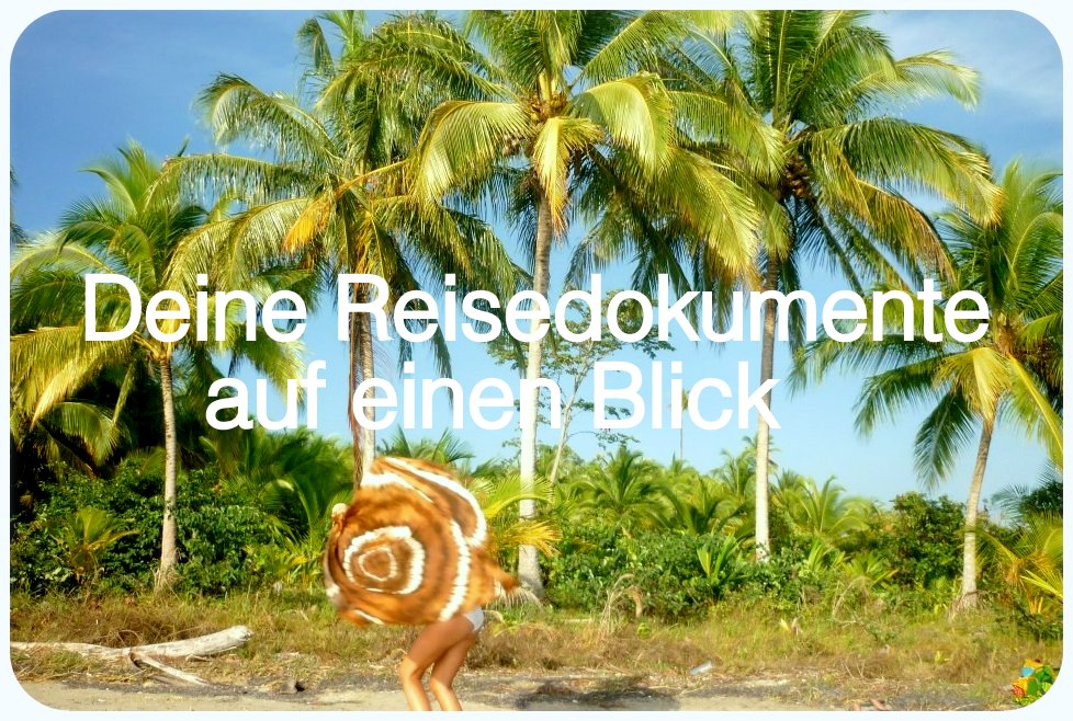 reisedokumente für backpacker