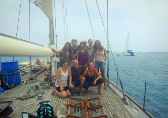 Segeln von Kolumbien nach Panama über San Blas